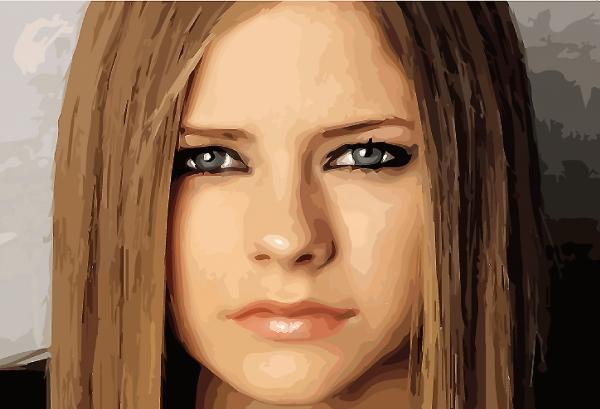 Avril Lavigne par jadedemarseille